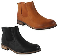 NEW WOMENS LADIES ANKLE WINTER CHELSEA LOW HEEL CASUAL BOOTS SHOES SIZES 3-8 UK