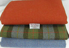 Harris Tweed Fabric Material - 3 Pieces Collection - various Sizes - ref.oa154