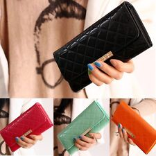 Women/Lady Leather Clutch Long Wallet Handbag Purse Messenger Shoulder Bag