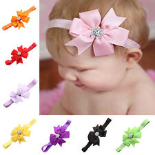 Newborn Baby Beautiful Headband Infant Toddler Bow Hair Band Accessories Photo