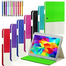 For Samsung Galaxy Tab 3 10.1 10 Inch Tablet Folio Hybrid Case Cover Stand P5200