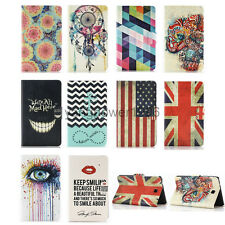 """Pattern Leather Case Cover Stand for Samsung Galaxy Tab 4 7.0"""" inch Tablet T230"""