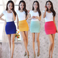 MINI Women's Sexy SKIRT Slim Seamless Stretch Tight Short Fitted Skirt