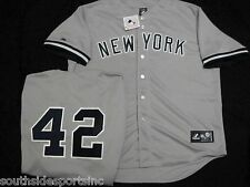 MARIANO RIVERA YOUTH GREY ROAD YANKEES JERSEY NEW MAJESTIC