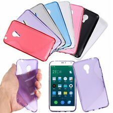 Slim Sottile S Line Soft TPU Gel Cover Custodia Silicone Case Per MEIZU 4 MX4