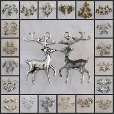 Ea0207-Na5067 Wholesale Tibetan Silver/Antiqued bronze animal charms