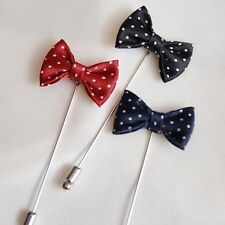 Mens Boutonniere/Wedding party boutonniere accessory/dot boutonniere collection