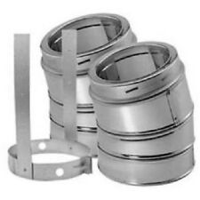 """30 Degree Elbow Kit Galvalume Outer Shell DuraTech Chimney Available 6"""" 7"""" or 8"""""""