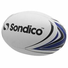 Sondico Rugby Ball 00 Logo Textured Outer 4 Panels Sport Accessories
