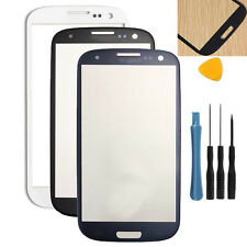 New Front Outer Screen Glass Lens Replacement for Samsung Galaxy S3 i9300 + tool