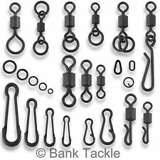 Carp Fishing Tackle Swivels Quick Change Flexi Chod Clips Rig Rings Links Loops