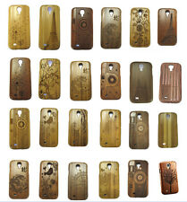 Real Natural Wood Bamboo Design Hard Back Case Cover for Samsung Galaxy S4 i9500