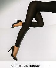 Wolford Leggings Merino Rib S + M + L, Various Colours New + Sealed
