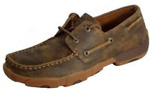 Twisted X Casual Shoes Womens Driving Moccasin Bomber WDM0003