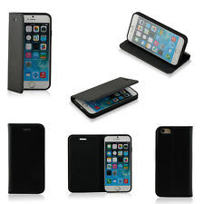 Case for Iphone 6 Premium Pu Leather Built-in Media Stand, Id Card Slots 6 Color
