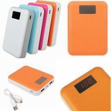 12000mAh LED Portable External Backup Battery Charger Power Bank For Cellphone