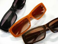 MODA Sun Reader Orange Black Brown Wide Unisex Frame Optical Layered Acetate