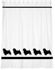 Norfolk Terrier Dog Shower Curtain *Your Choice of Colors* - Our Original