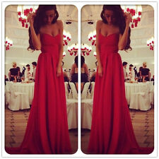 New Sexy Bridesmaid Formal Wedding Gown Party Evening Cocktail Prom Dress