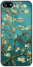 Vincent Van Gogh Blossoming Almond Tree Rubber Cover Case For iPhone 5/5S