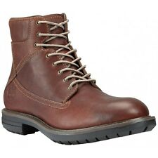 "Men's Timberland Earthkeepers Ryker Waterproof 6"" Boot 5867R W/L Red Brown"