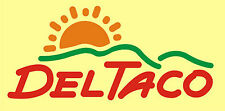 Del Taco T shirt cool retro 70's 80's fast food mexican tee KFC Arby's bell viva