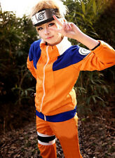 Fashion Naruto Cosplay Costume Anime Fans Casual Suit Jacket+Pants COS Coat HOT