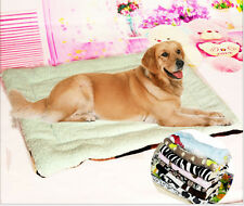 Sherpa Winter Warm Cushion Dog Pet Bed Soft Cozy Pad Mat Random Color C399