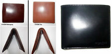 NEW Coach Men's Buffalo Bifold Leather Wallet F74396 Slim Authentic!