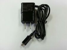 New 2 Amp Rapid Black Wall Travel Home Charger Adapter for Micro USB Phones