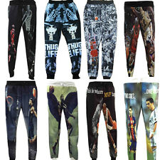 New Hiphop Men Women cool 3D basketball match hot star sport slacks Pants jogger