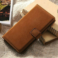 For Samsung Galaxy S5/Note 3 Case Vintage Soft Leather Flip Wallet Stand Cover