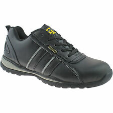 GRAFTERS SAFETY STEEL TOE CAP TRAINERS SHOES 3 - 12 MENS WORK BLACK M090A KD