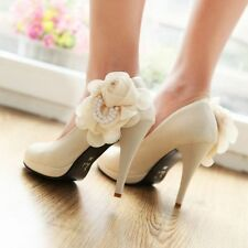 New Sexy Women's Patent Leather Platform Pointed Toe Wedding Shoes Stilettos