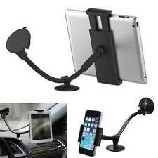 Universal 360° 2in1 Car Windshield Mount Holder Stand for Mobile Tablet GPS 7-10