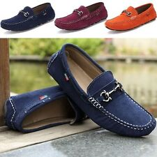 Men's Sneakers Driving Moccasins Casual Breathable Slip-on Loafers Shoes NN233