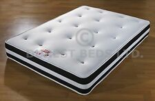 EXCLUSIVE BED-WORLD  AIR MEMORY 1500 POCKET SPRING  MATTRESS  3FT 4FT6 5FT SIZE