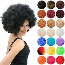 Afro wig 70er 80er Years Theme Party Disco Afro Wig Men's Women's Unisex