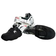 Footful Black Warmth Shoe Toe Cover Overshoes Winter Cycling Protector EU 39-43