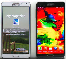 Samsung Galaxy Note 3 III Android AT&T T-Mobile Verizon Sprint Black White