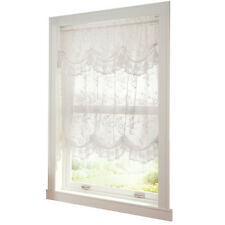 Collections Etc Allison Balloon Lace Curtain and Valance