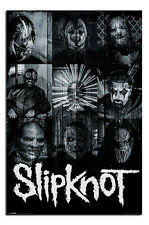 Slipknot Masks Official Large Wall Poster New - Maxi Size 36 x 24 Inch