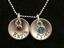 """Ganz """"My Charming Family"""" Name Charm Initial Words Birthstone Names A to C"""