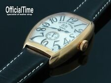 OfficialTime 22/18mm Italian Bull Leather Strap / Band fits Franck Muller 8880
