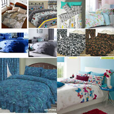 FAB NEW RANGE OF GIRLS / BOYS / TEENAGERS / ADULTS MODERN DUVET COVER BED SETS