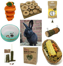 Rosewood Rabbit Guinea Pig Toy Treat Bed Bowl Brush House Lots of Choice Mixed