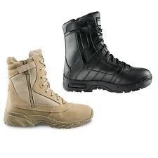 """Original Swat Chase 9"""" Tactical Police Military Boots with Side Zipper - 1312"""
