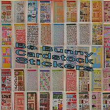 Bo Bunny Scrapbooking Crafts Cardstock Stickers Choose Family Friend Holiday ++
