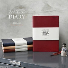 The Basic Official Diary Planner Scheduler Journal Agenda Organizer Notebook