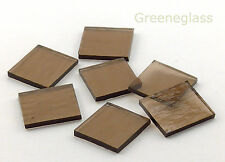 Bronze Cathedral Rough Rolled Mosaic Glass Tile - Shapes - Spectrum - H Pack